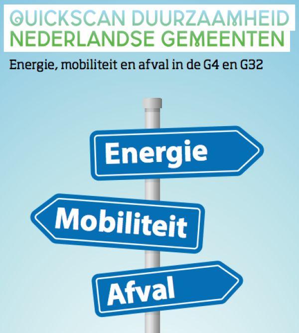 Groningen op nummer 5 van Nederlandse duurzame steden