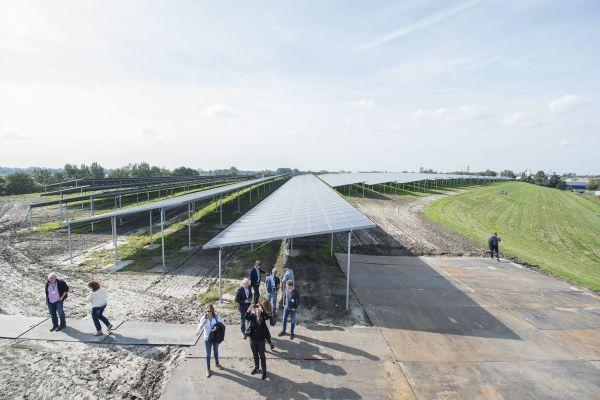 Meer dan honderdduizend zonnepanelen in stad