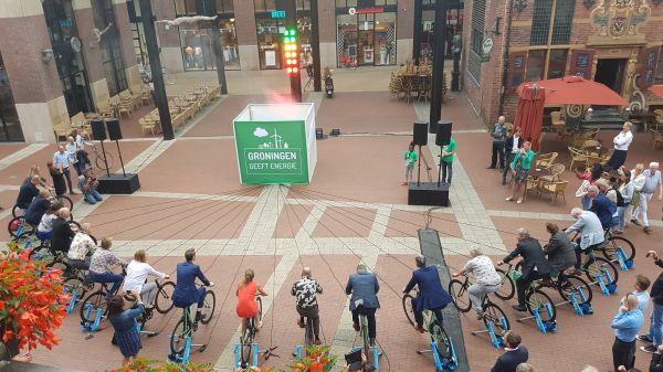 Provincie Groningen draait op groene lokale Energie VanOns