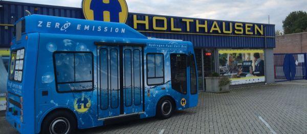 Holthausen zet Groningse en Amsterdamse mobiliteit over op groene waterstof